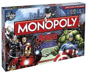 Monopoly de los Vengadores - Juegos de mesa de Monopoly temáticos - Los mejores juegos de mesa de Monopoly