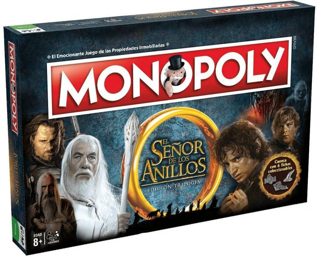 Juegos de mesa de versiones temáticas del Monopoly - Monopoly del Señor de los Anillos