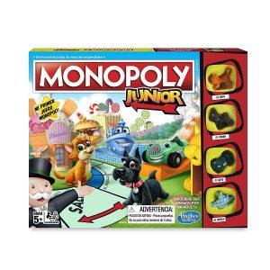 Juegos de mesa para niños - Juego de mesa de Monopoly junior