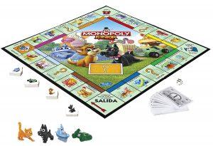 Juegos de mesa para niños - Juego de mesa de Monopoly junior tablero