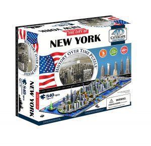 Puzzles en 4D - Puzzles en 4 dimensiones - Puzzle en 4D de Nueva York