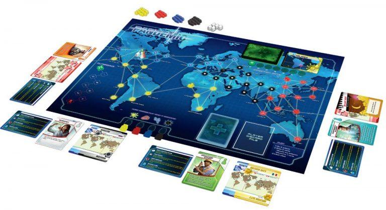 Los mejores juegos de mesa del mundo - juego de mesa Pandemic
