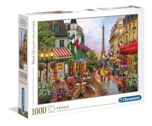 Puzzles de París - Puzzle de Paris de 1000 piezas de paseo por París