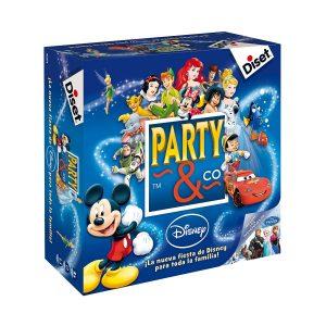 Juegos de mesa de habilidad y pruebas - Juego de mesa Party and co disney
