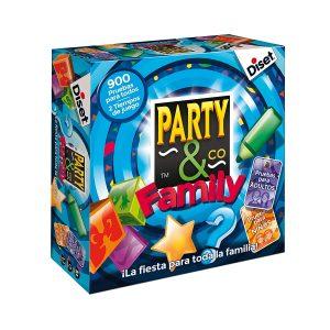 Juegos de mesa de habilidad y pruebas - Juego de mesa Party and co familia