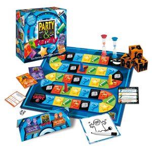 Juegos de mesa de habilidad y pruebas - Juego de mesa Party and co familia tablero