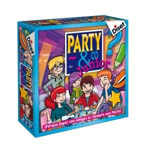 Juegos de mesa de habilidad y pruebas - Juego de mesa Party and co junior