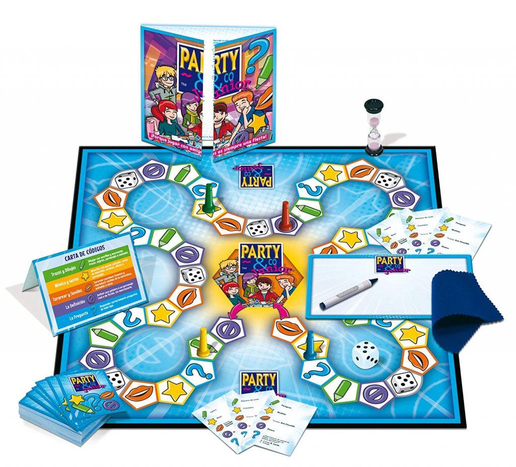 Juegos de mesa de habilidad y pruebas - Juego de mesa Party and co junior tablero