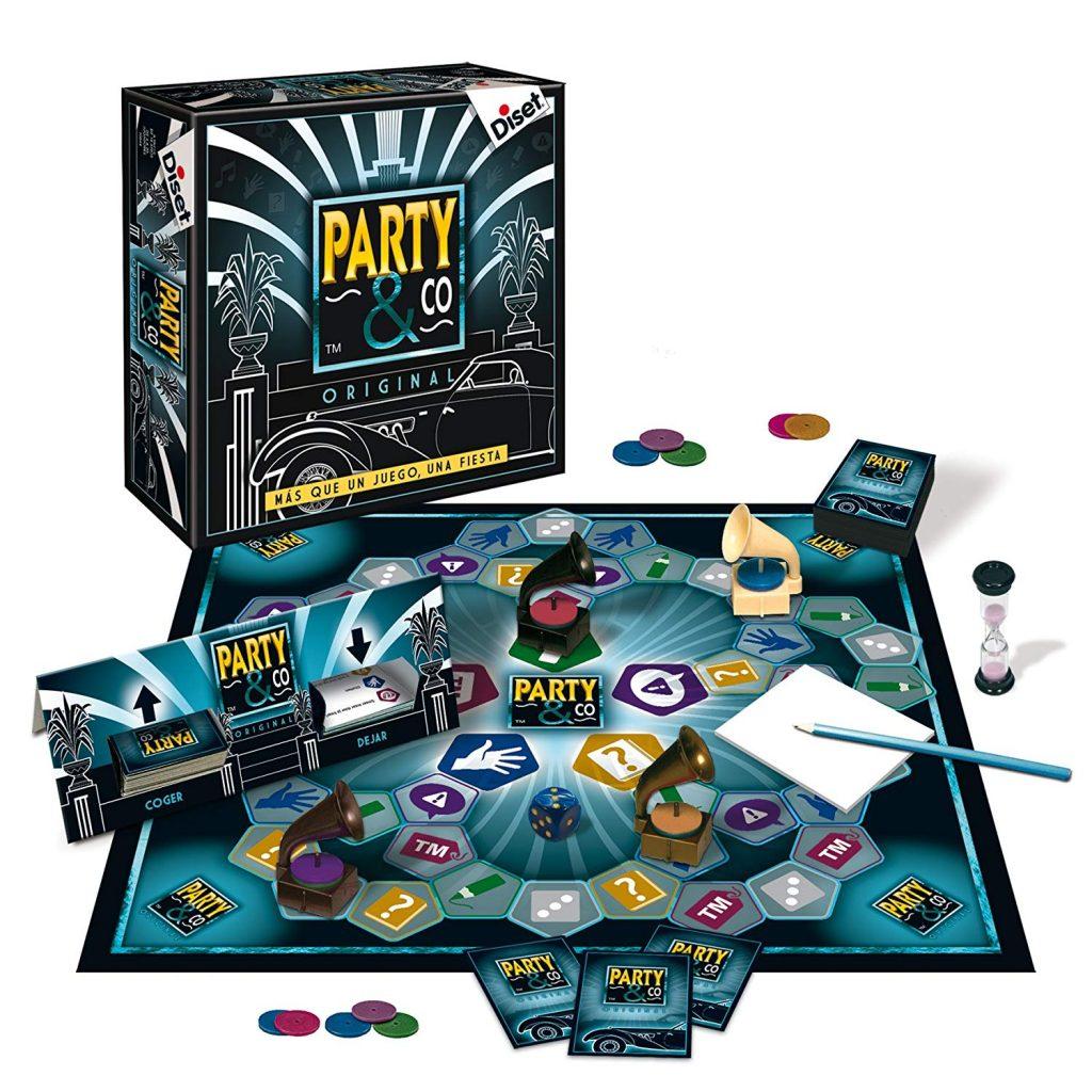 Juegos de mesa de habilidad y pruebas - Juego de mesa Party and co tablero