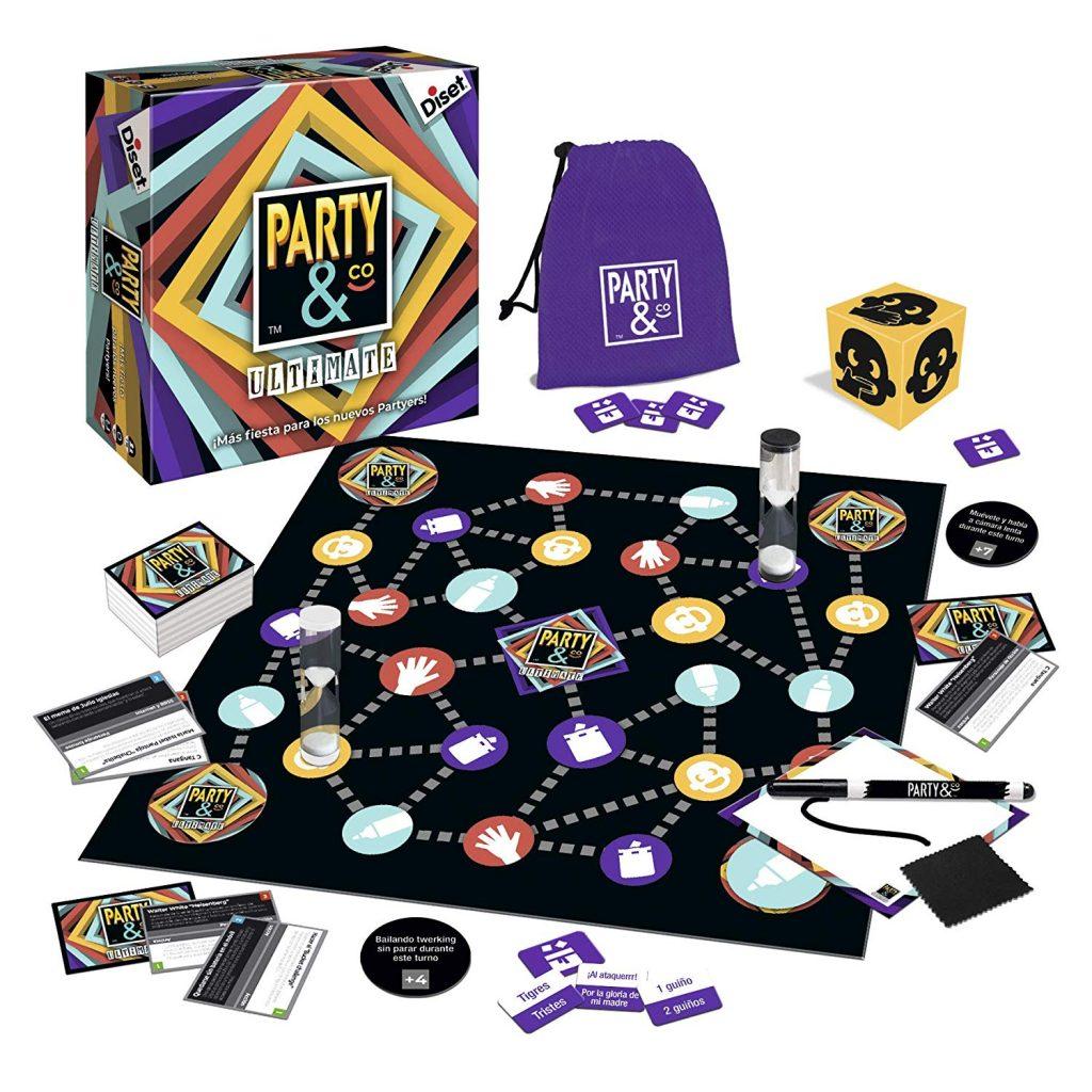 Juegos de mesa de habilidad y pruebas - Juego de mesa Party and co ultimate tablero