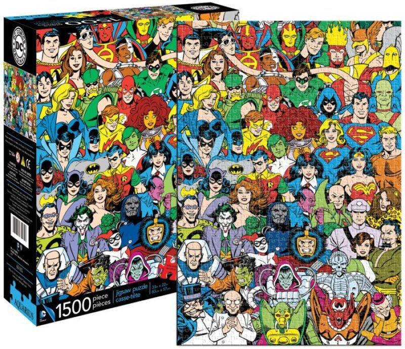 Puzzles de DC - Personajes de DC