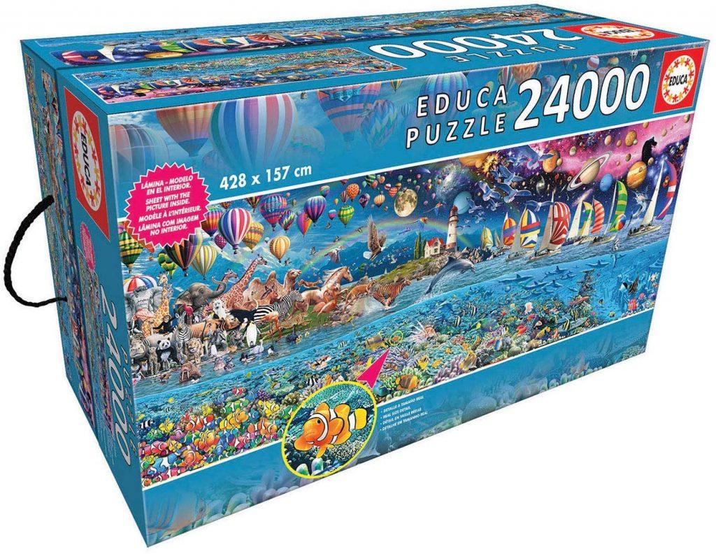 Puzzles gigantes - Puzzle 24000 piezas. Vida mayor