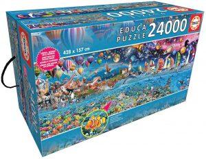 Puzzle 24000 piezas. Vida mayor