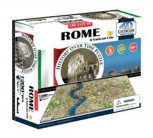 Puzzles en 4D - Puzzles en 4 dimensiones - Puzzle en 4D de Roma y el Vaticano