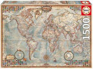 Puzzle Mapa del mundo político
