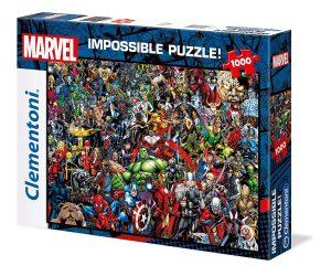 Puzzle de personajes de Marvel