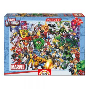 Puzzle heroes de marvel