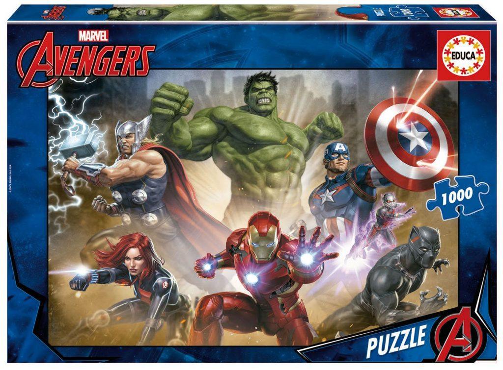Puzzles de Marvel - Puzzle vengadores 2