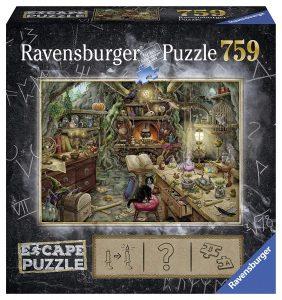 Puzzles de Escape Room - Puzzle escape Bruja