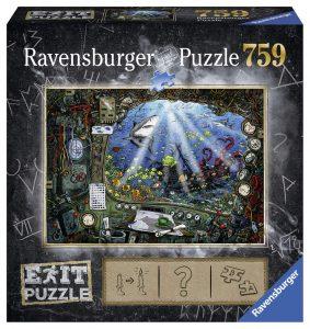 Puzzles de Escape Room - Puzzle escape submarino