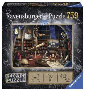 Puzzles de Escape Room - Puzzle escape observatorio