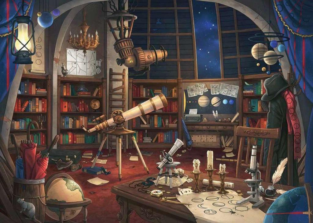 Puzzles de Escape Room - Puzzle escape observatorio hecho