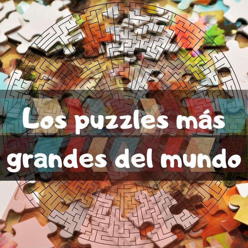 Puzzles más grandes del mundo en Amazon. Puzzles enormes