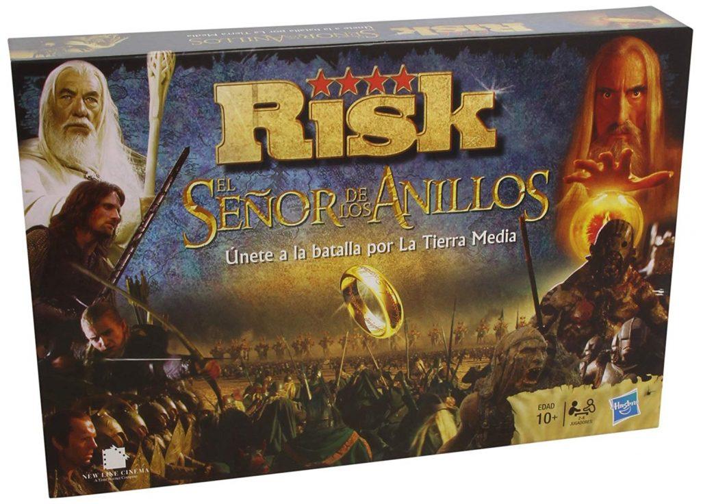Juegos de mesa de Risk - Versiones del risk - Risk del señor de los anillos