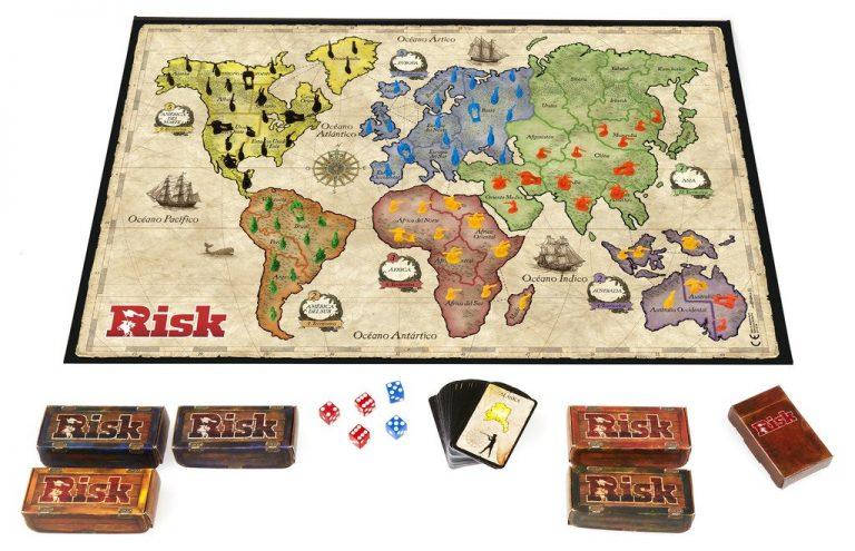Juegos de mesa del señor de los anillos - Juego de Risk tablero