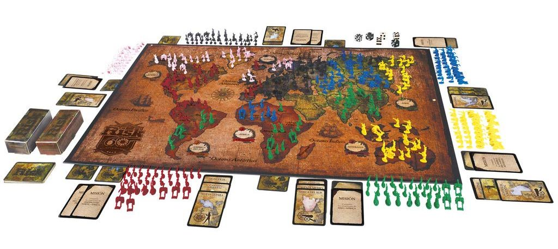 Juegos de mesa de Risk - Versiones del risk - Risk tablero 60