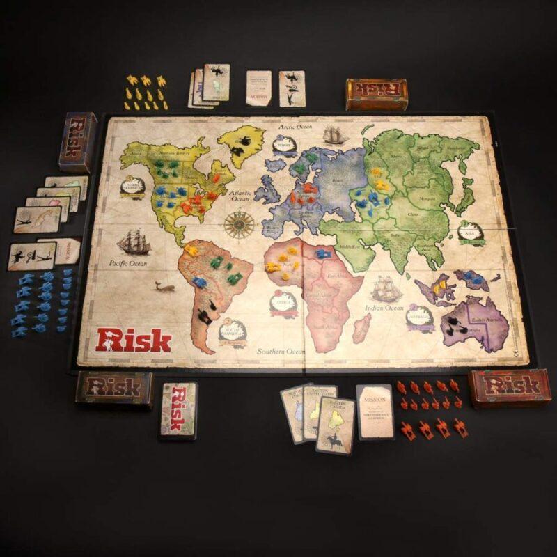 Juegos de mesa de Risk - Versiones del risk - Risk tablero