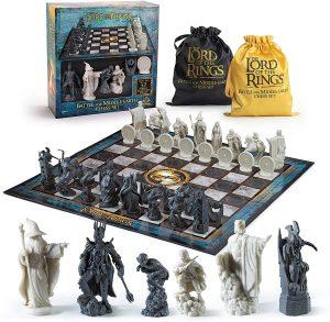 Set de Ajedrez del Señor de los Anillos - Los mejores juegos de mesa del Señor de los Anillos