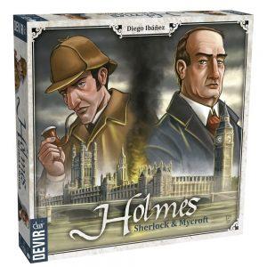 Los mejores juegos de mesa del mundo - juego de mesa Sherlock y Mycroft - Juego de mesa de cartas