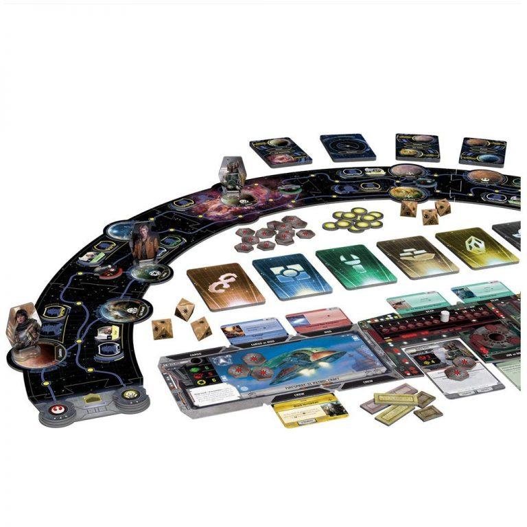 Juegos de mesa de Star Wars - Juego de mesa la guerra de las galaxias - El borde exterior tablero