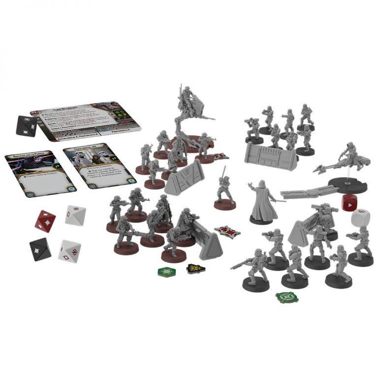 Juegos de mesa de Star Wars - Juego de mesa la guerra de las galaxias - Star Wars Legion tablero