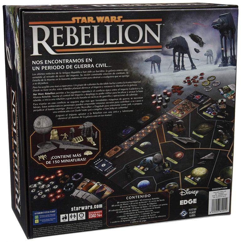 Juegos de mesa de Star Wars - Juego de mesa la guerra de las galaxias - Star Wars Rebellion tablero