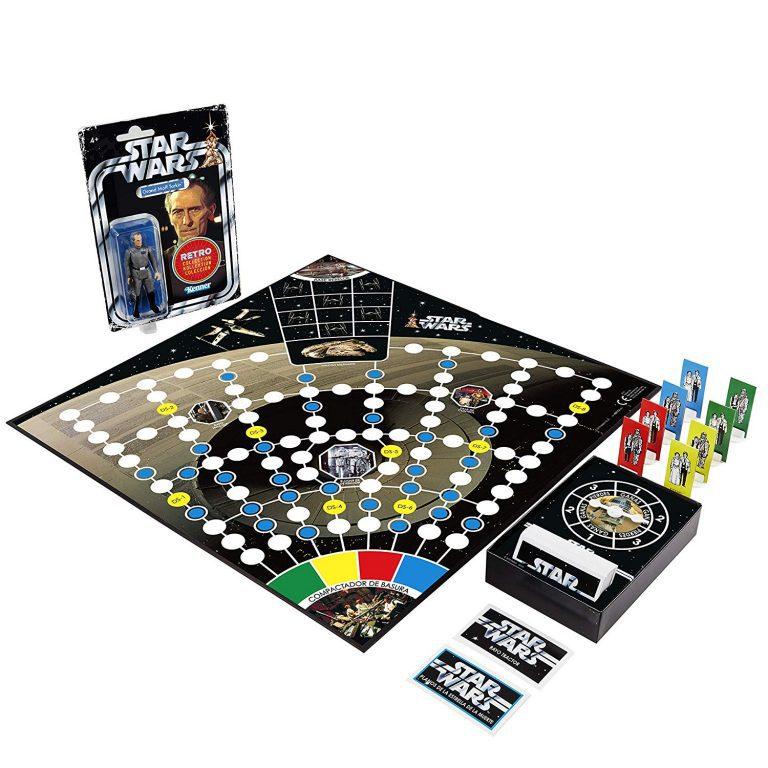 Juegos de mesa de Star Wars - Juego de mesa la guerra de las galaxias - Escape Estrella muerte tablero