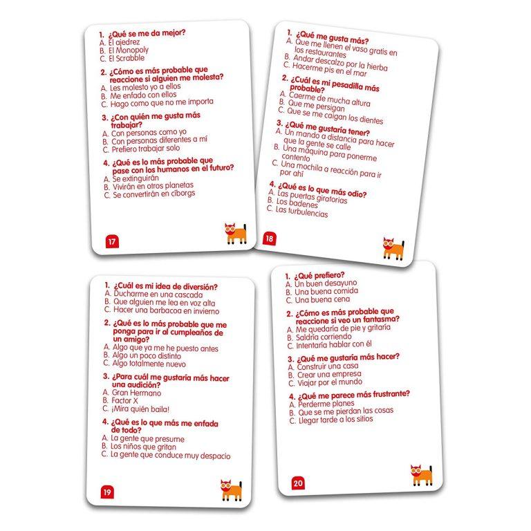 Juegos de cartas - Juego Sussed tablero