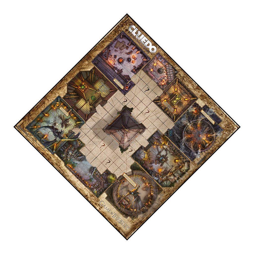 Juegos de mesa de juego de tronos - Tablero de Cluedo
