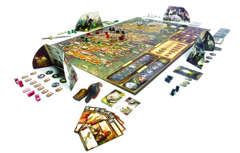 Juegos de mesa de juego de tronos - Tablero de Juego de Tronos