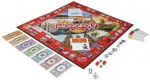 Juegos de mesa de habillidad - Tablero de Monopoly