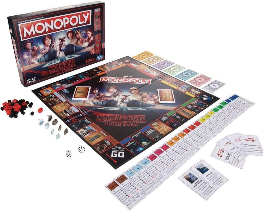 Tablero de Monopoly de Stranger Things