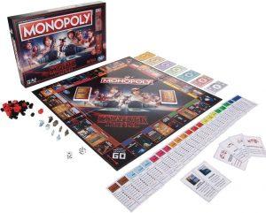 Tablero de Monopoly de Stranger Things