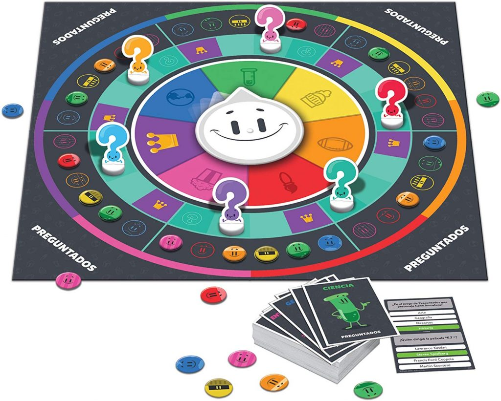 Juegos de mesa del Trivial - Tablero de Preguntados