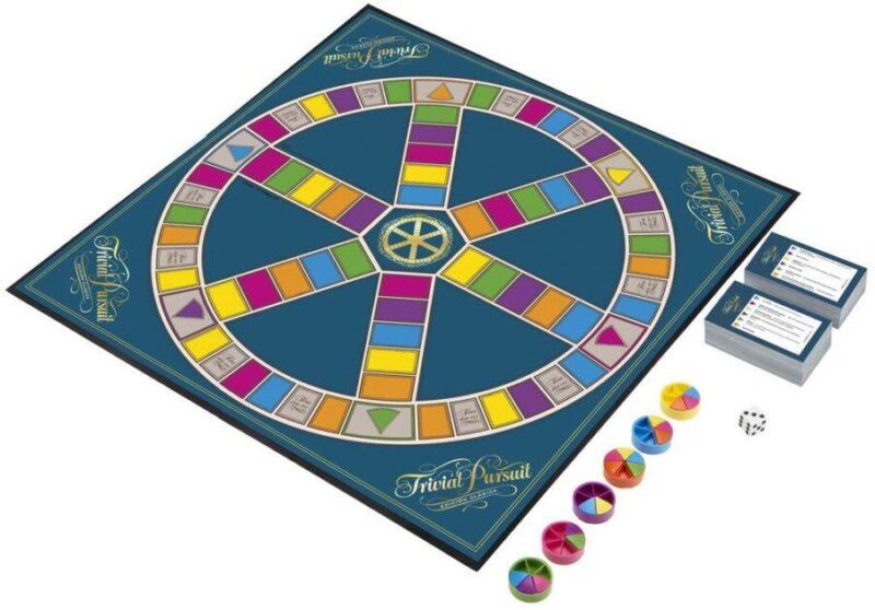 Juegos de mesa del Trivial - Tablero de Trivial Clásico