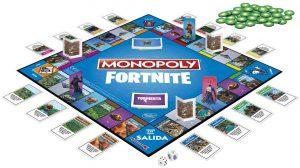 Tablero del Monopoly del Fornite