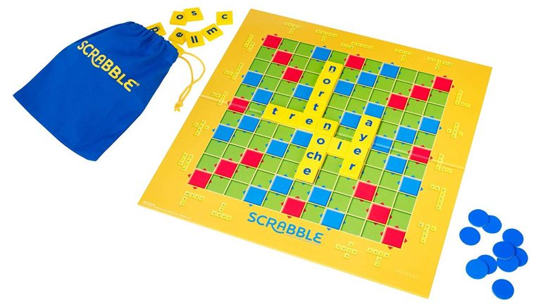 Juegos de mesa para niños - Juego de mesa de scrabble tablero