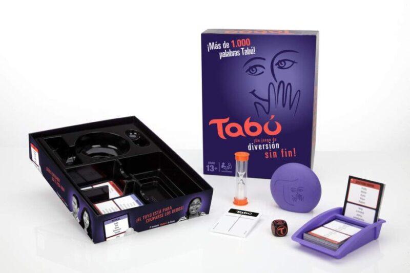 Juego de mesa de habilidad - juego de mesa Tabu tablero