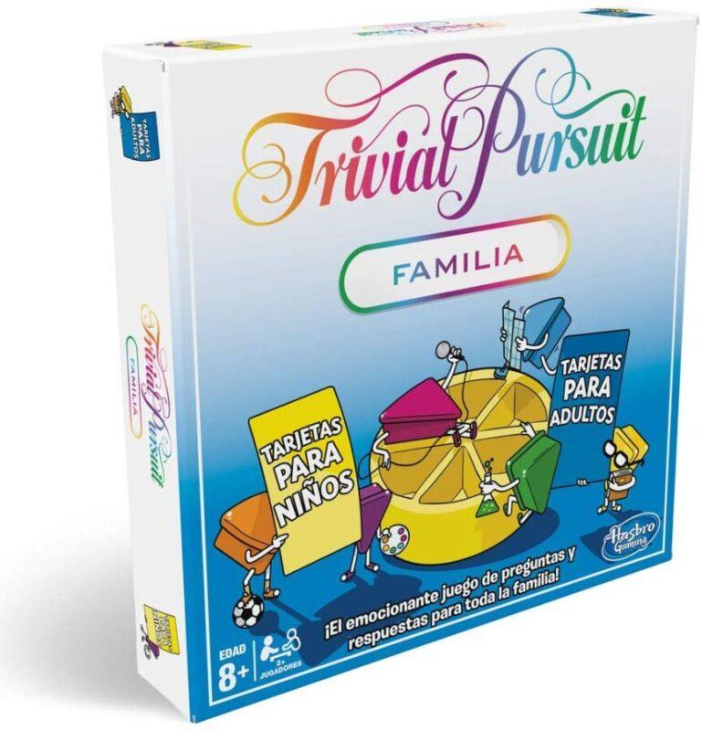 Juegos de mesa de preguntas y respuestas del Trivial - Trivial Pursuit Edición familias