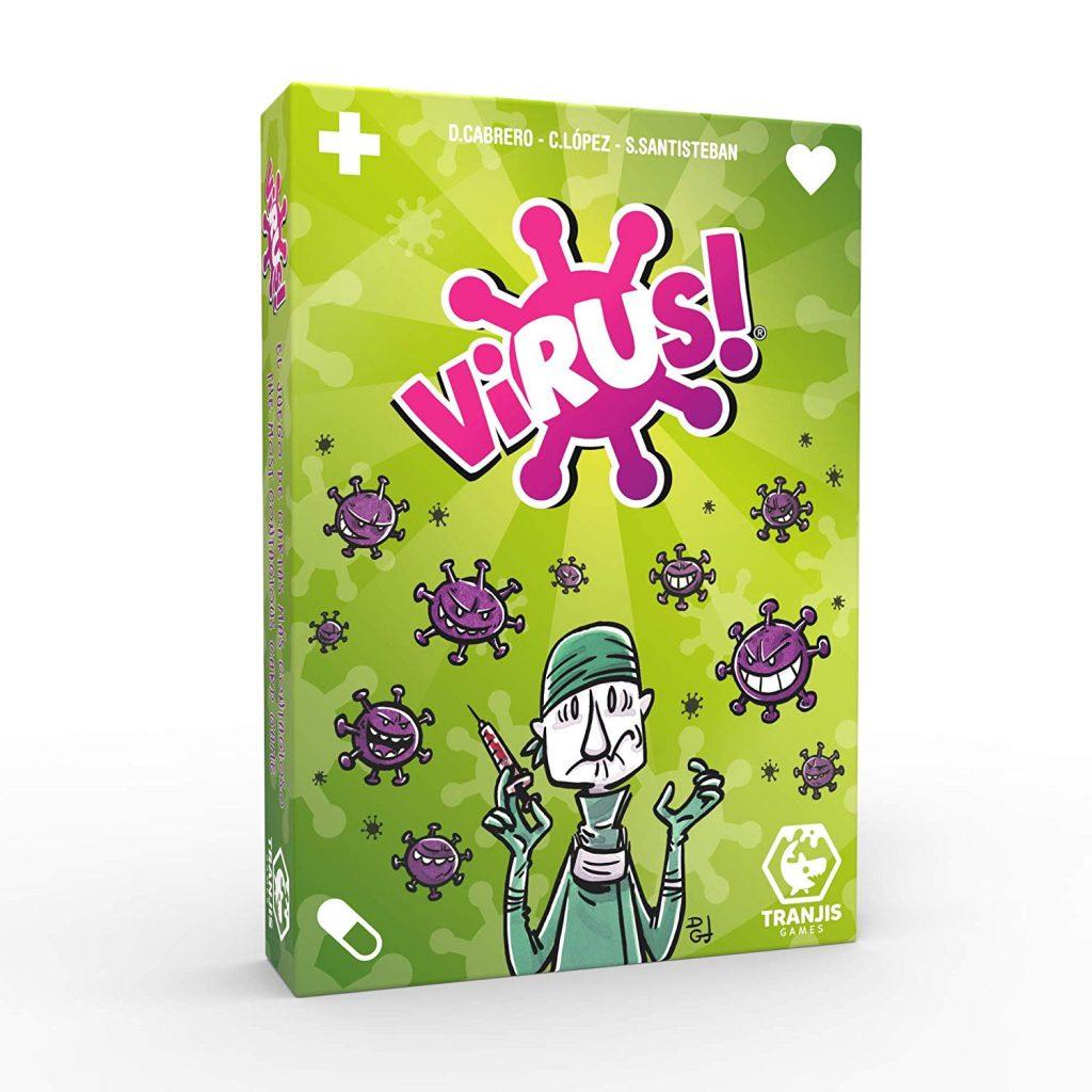 Juegos de cartas - Juego Virus